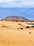Graciosa Island - small island near Lanzarote Canary Islands, Spain.