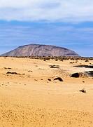Graciosa Island - small island near Lanzarote Canary Islands, Spain.
