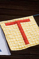 Letter T bunting
