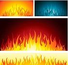 Fire flames symbol