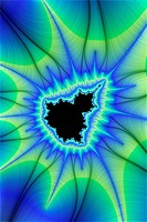 Digital visualization of a fractal - 01/01/2011