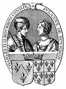 CHARLES, duc de BOURBON Connetable de France, and Suzanne, his wife.