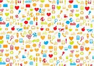 variety of symbols