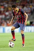 FC Barcelona. Neymar in action.