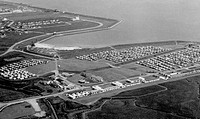 Canvey Island, Thorney Bay Beach Camp c1955