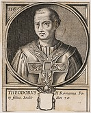 Pope Theodorus II Pope for twenty days during December 897 before he died.