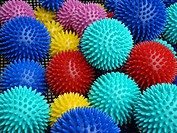 Balls, massage balls, health, wellness, bright,