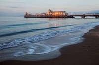 UK, United Kingdom, Europe, Great Britain, Britain, England, Dorset, Bournemouth, Bournemouth Beach, Pier, Piers, Beach, Beaches, Coast, Coastal, Reso...