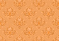 Classic seamless background with orange shade