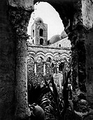 cloister of the church of St. John of the Hermits, palermo 1910-20