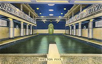 Swimming Pool at the Shelton Hotel on Lexington Avenue, New York City, America