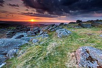 Hayne Down, Dartmoor National Park, Manaton, West Devon, England, UK, Europe.
