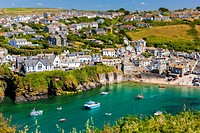 Port Isaac (Cornish: Porthysek), a small and picturesque fishing village on the Atlantic Coast of north Cornwall, England, United Kingdom.