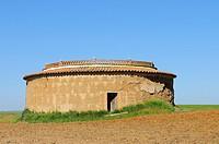 Dovecote.Castropepe.Tierra de Campos.Zamora province.Castilla y León.Spain.