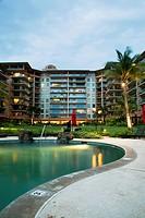 Honua Kai Resort and Spa with pool; Kaanapali, Maui, Hawaii, United States of America
