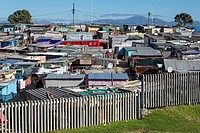 South Africa, Cape Town, Khayelitsha Township.