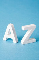 Letters A and Z
