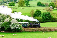 Welshpool and Llanfair Light Railway, Wales.