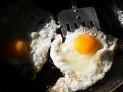 eggs frying.