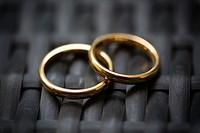 Wedding ring, close-up.