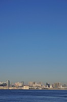 Skyline of Tokyo, Koto ward, Tokyo Prefecture, Honshu, Japan