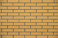 yellow brickwork
