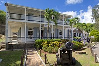 Museum, Nelson's Dockyard, Antigua, Leeward Islands, West Indies, Caribbean, Central America
