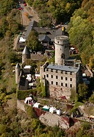 The Pyrmont Castle stands near the town Roes on a slate rock above the waterfall in the southern Eifel Elzbachs. The castle was built in the late 12th...
