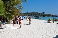 Hat Sai Kaeo Beach on Ko Samet Island, Thailand.