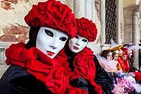Venice Carnival, Venice, Italy.