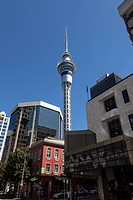 The Skytower in Auckland, New Zealand