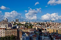 Turkey, Istanbul, View from Galata Tower