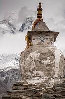 Stupa near Dingbochhe, Nepal.