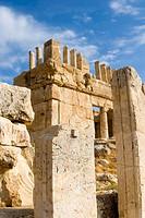 Qasr Iraq El Amir or Qasr Al Abd, Fortress of Servant, Wadi as Sir, Jordan.