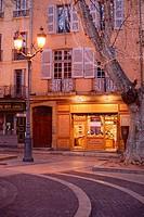 Sweet Shop or Patisserie on Town Square Place de la Mairie Aix-en-Provence Provence France.