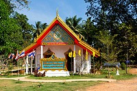 Buddhist Temple Wat Salakphet on Koh Chang, Thailand.