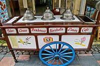 Mobile ice cream shop.
