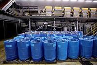 orange juice factory.