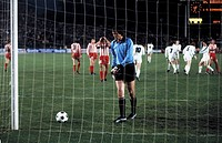 football, UEFA Cup, Europa League, 1978/1979, final, second leg, Rhine Stadium in Duesseldorf, Borussia Moenchengladbach versus Red Star Belgrade 1:0,...