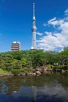 Tokyo Sky Tree and Sumida Park