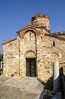 Nessebar, church Sv. Johann Krastitel, Bulgaria, Black Sea.