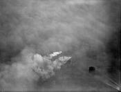 Fog Scenes at Battersea Power Station 1949.