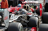 Formula 1 World Championship in Monza on Sunday, 09.09.2012 at Autodromo di Monza in Italy / Parc Ferme.