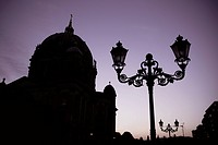 Germany, Berlin, Berlin-Mitte, Berlin Cathedral in the evening