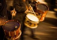 Drums in popular festivals, Calanda, Teruel, Spain