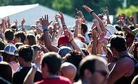 The music festival Rock for People in Hradec Kralove, Czech Republic on July 3, 2014. (CTK Photo/David Tanecek)