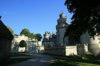Castel of Pierrefonds, Oise, Pierrefonds, France, Europe