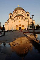 Beograd, Church of the Holy Sava in the Vracar city part, Serbia-Montenegro, Belgrade