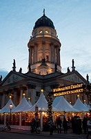 Gendarmenmarkt Christmas Market Berlin Germany