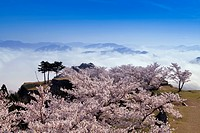 Taketa ruins, Asago, Hyogo, Kinki, Japan